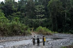 Mauricio, Filander (rangers), Reporter (danielle)_walking